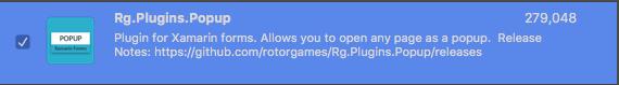 rg.plugins.popup.services.popup navigation