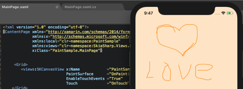 Painting your screen with Xamarin Forms – AskXammy